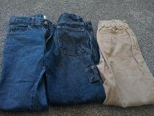 Boys size 7 pants lot